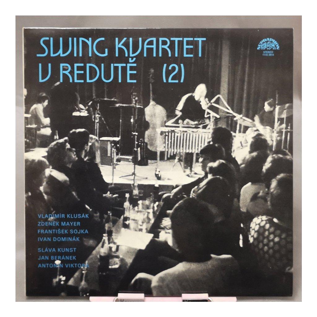 Swing Kvartet – Swing Kvartet V Redutě (2) LP