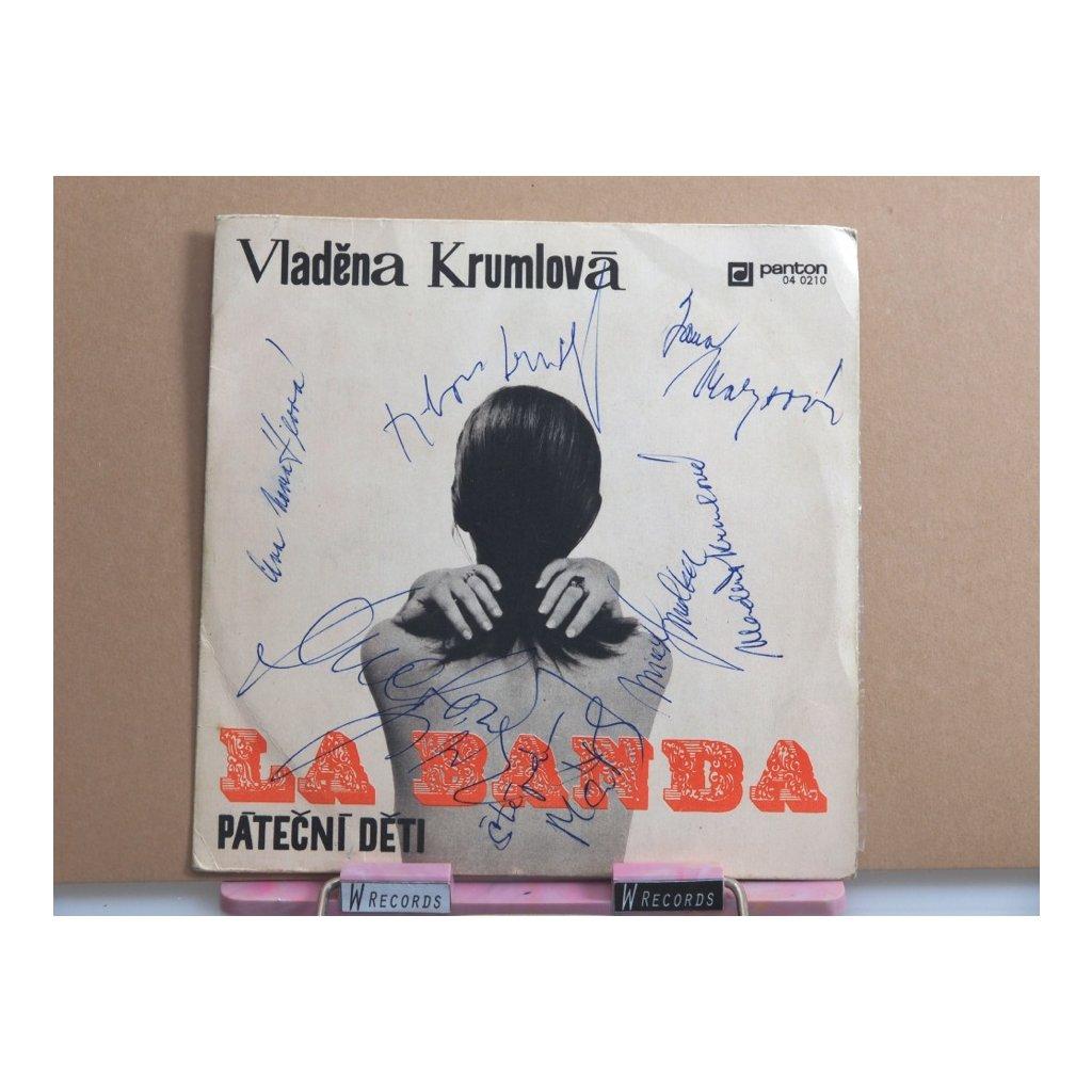Vladěna Krumlová – La Banda / Páteční Děti + podpisy