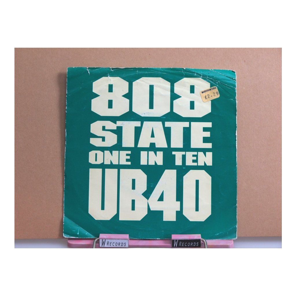 """808 State & UB40 – One In Ten 7"""""""