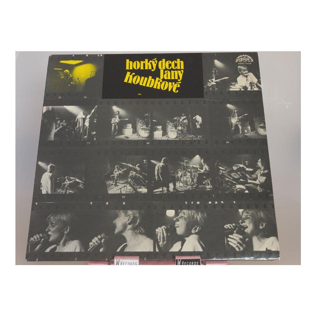 Horký Dech Jany Koubkové - Horký Dech Jany Koubkové LP