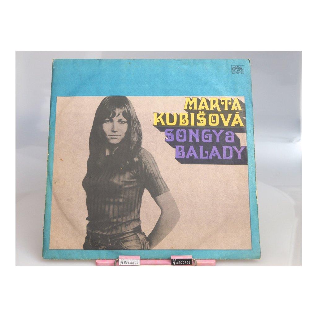 Marta Kubišová – Songy A Balady LP