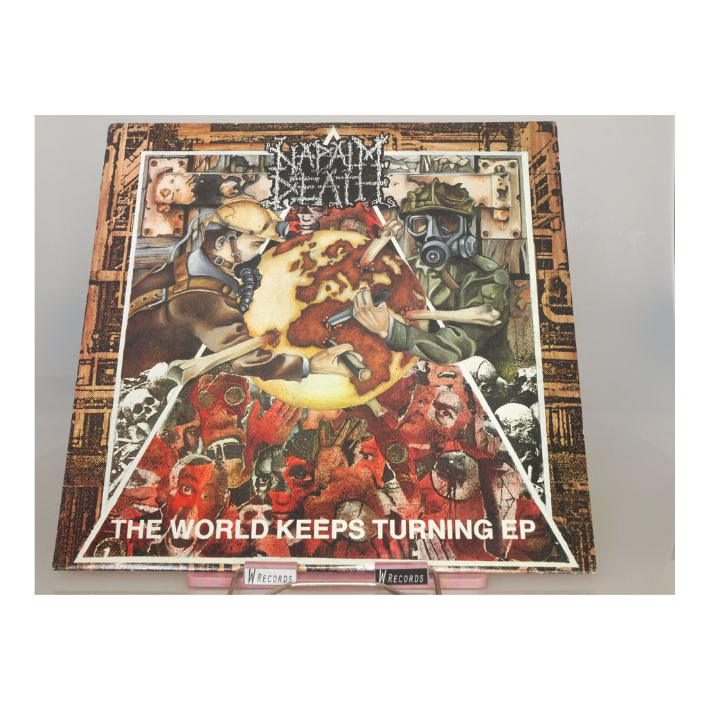 Napalm Death ‎– The World Keeps Turning EP