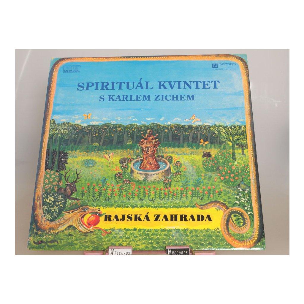 Spirituál Kvintet s Karlem Zichem - Rajská Zahrada LP