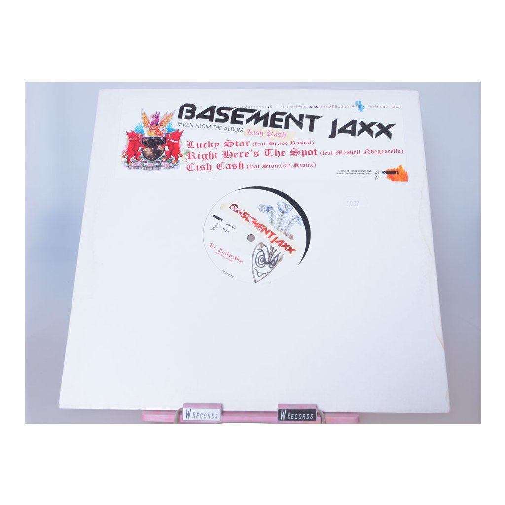 """Basement Jaxx - Bingo Bango 2×12"""""""
