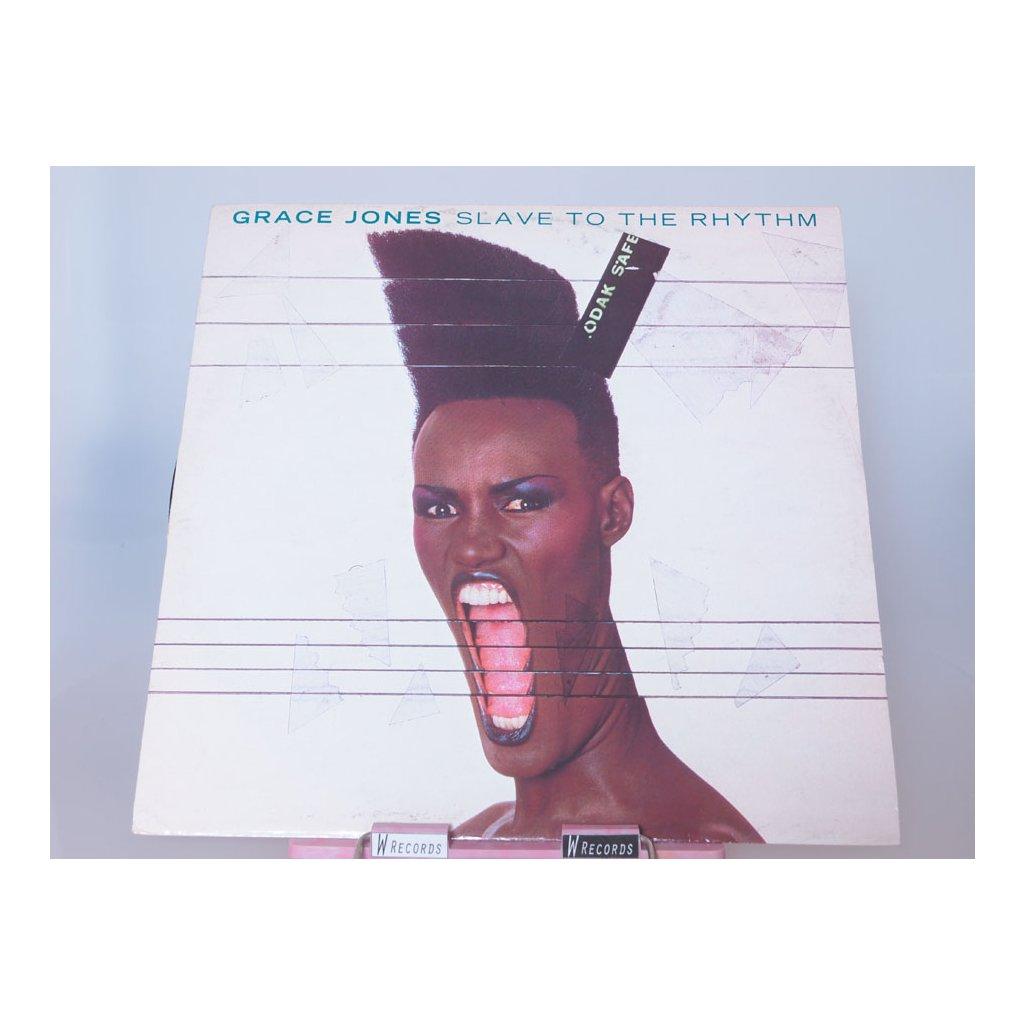 "Grace Jones – Slave To The Rhythm 12"""