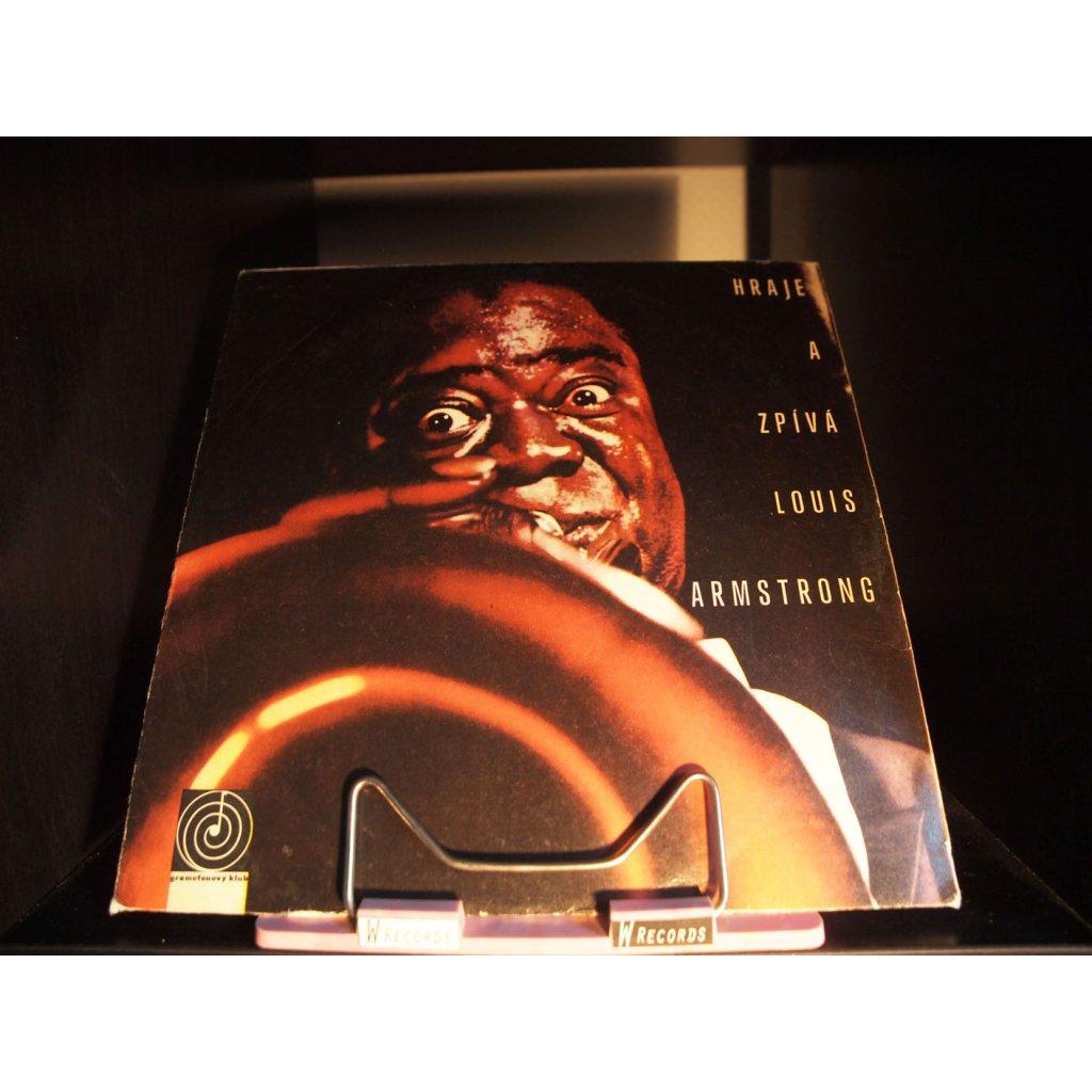 Louis Armstrong - Hraje a zpívá Louis Armstrong