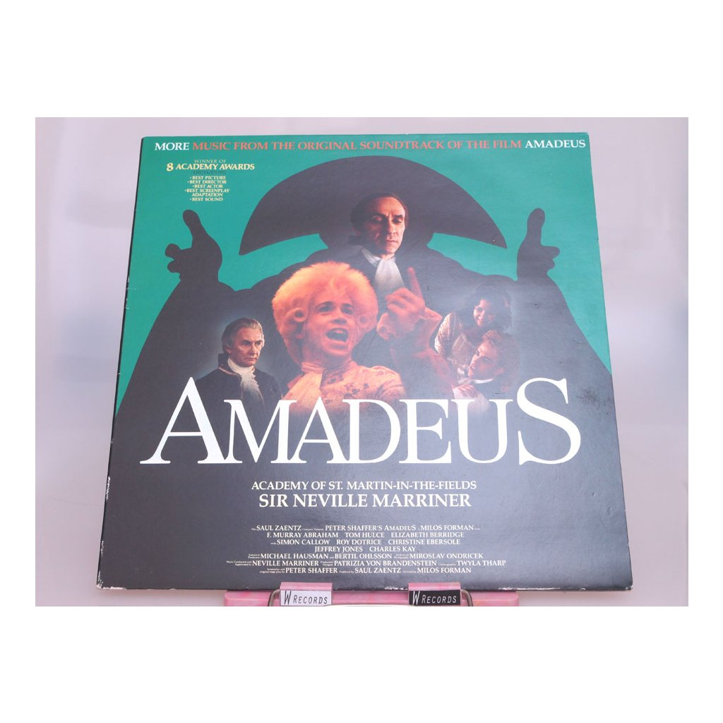 Sir Neville Marriner, Academy Of St. Martin-In-The-Fields – Amadeus (More Music From The Original Soundtrack Of The Film) LP