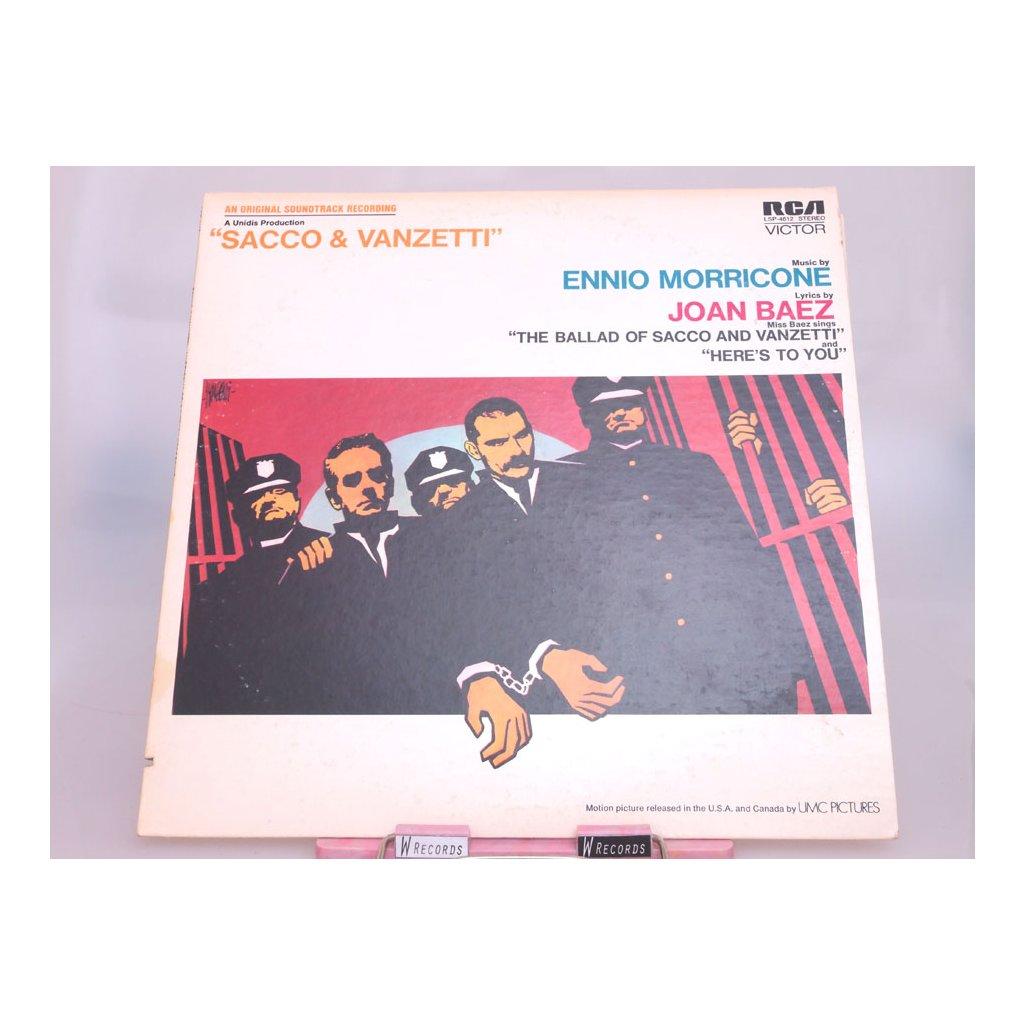 Ennio Morricone – Sacco & Vanzetti LP