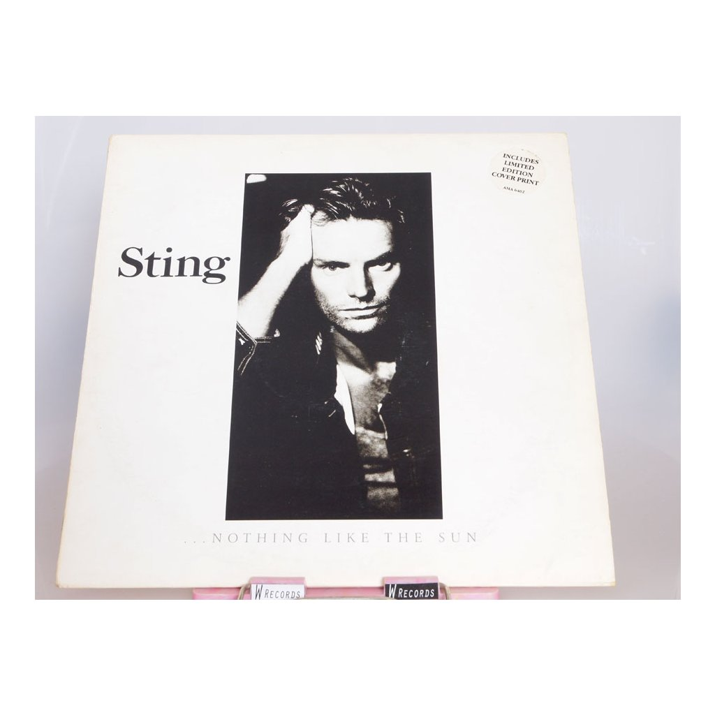 Sting – ...Nothing Like The Sun 2LP