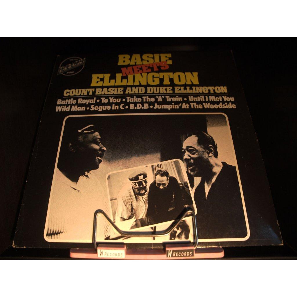 Count Basie And Duke Ellington - Basie Meets Ellington LP