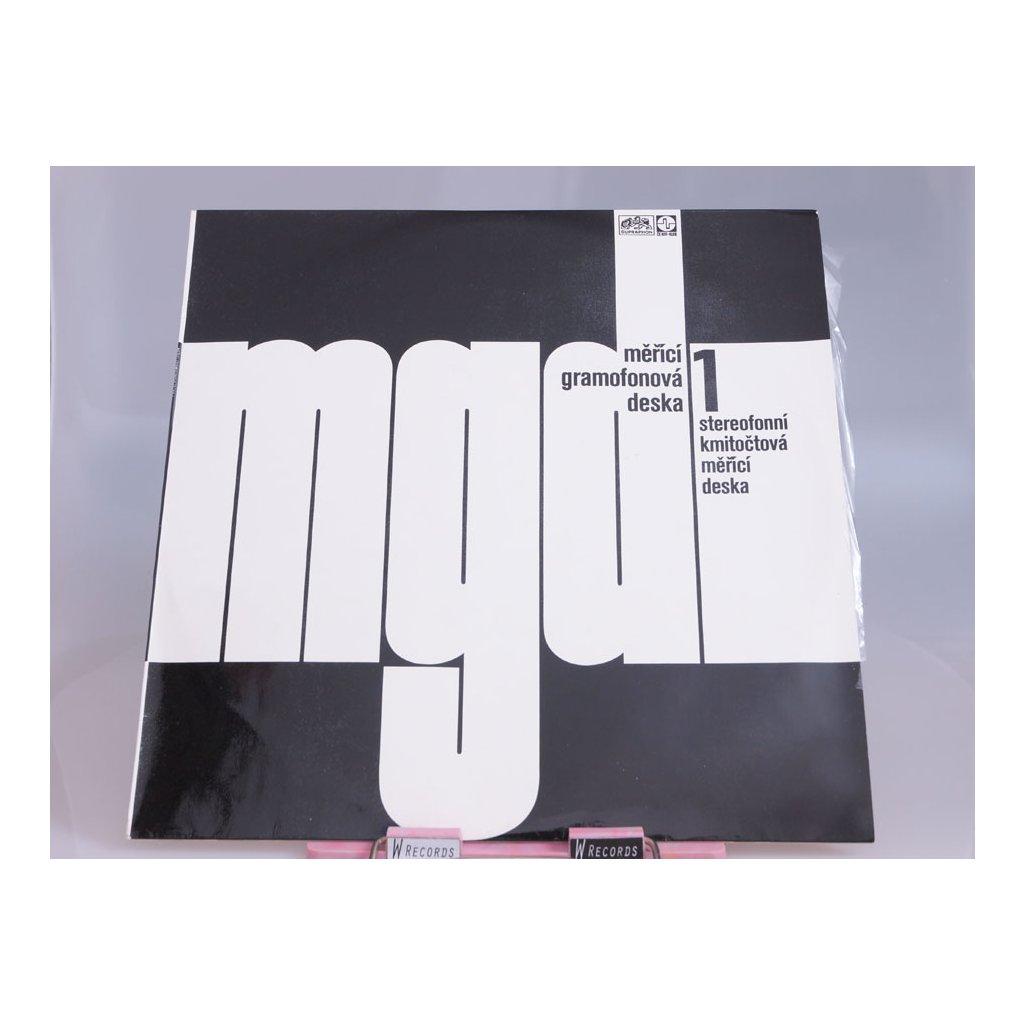 Měřící Gramofonová Deska 1 (Stereofonní Kmitočtová Měřící Deska)