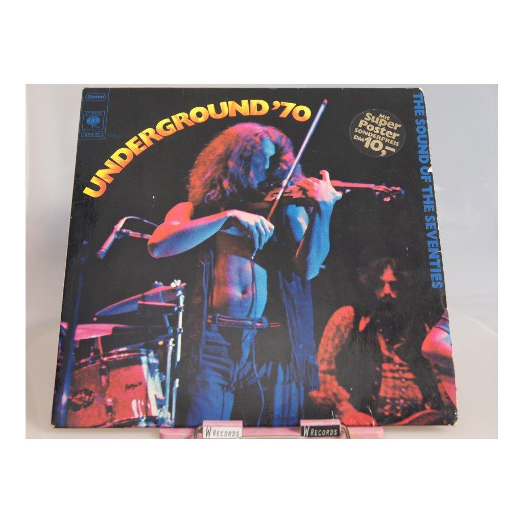 Various – Underground '70 + PLAKÁT