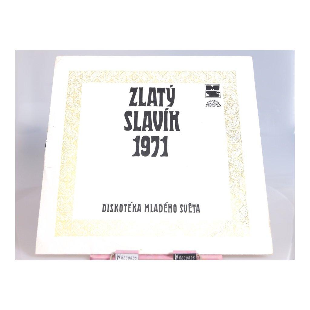 Various – Zlatý Slavík 1971