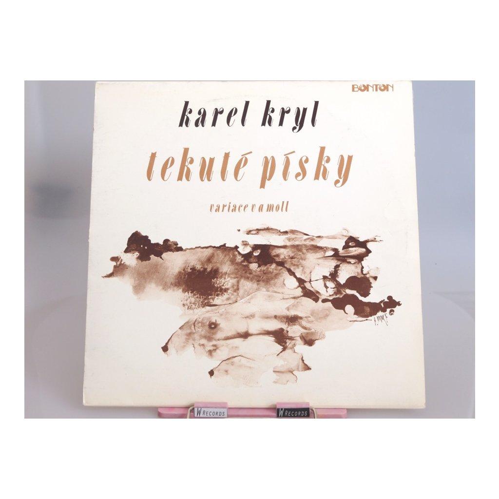 Karel Kryl - Tekuté Písky