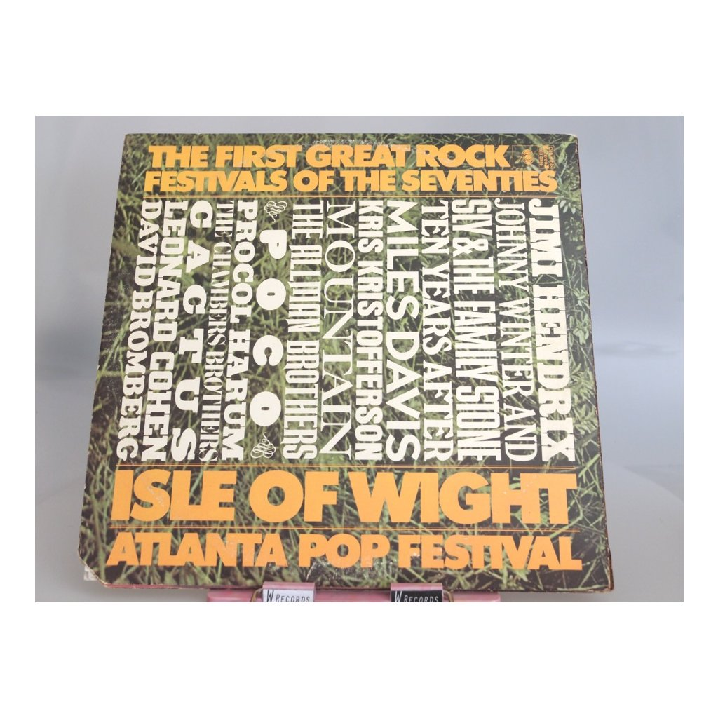 Various Artists – The First Great Rock Festivals Of The Seventies
