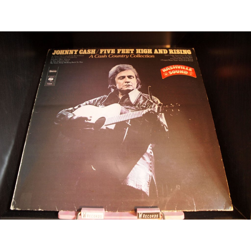 Johnny Cash - Five Feet High And Rising LP