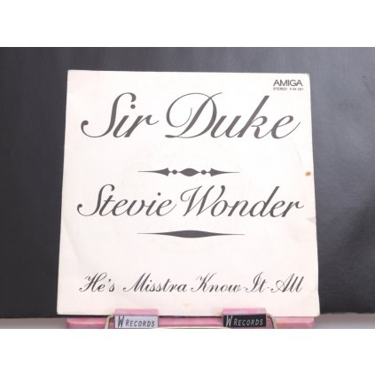 Stevie Wonder ‎– Sir Duke / He's Misstra Know It All