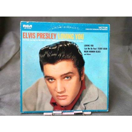 Elvis Presley – Loving You LP