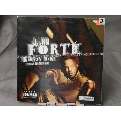 "John Forte – Ninety Nine (Flash The Message) 12"""