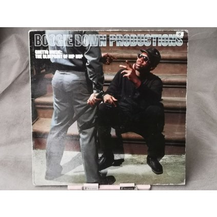 Boogie Down Productions ‎– Ghetto Music: The Blueprint Of Hip Hop LP