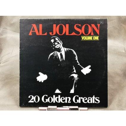 Al Jolson – 20 Golden Greats Volume One LP