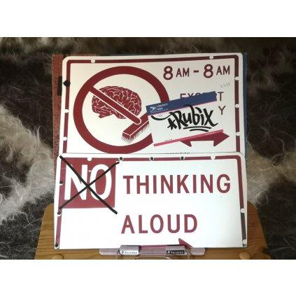 "Rubix – (No) Thinking Aloud 12"""