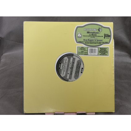 """Aceyalone – Microphones / Keep Rappin' & Spinnin' 12"""""""