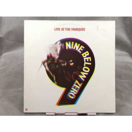 Nine Below Zero ‎– Live At The Marquee