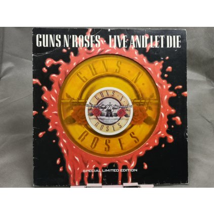 Guns N' Roses ‎– Live And Let Die