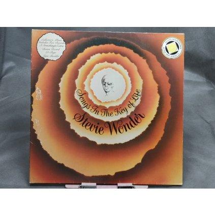 """Stevie Wonder – Songs In The Key Of Life + 7"""" & BOOKLET"""