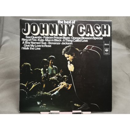 Johnny Cash ‎– The Best Of Johnny Cash