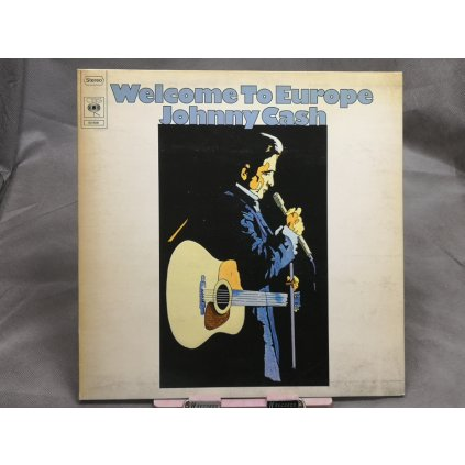 Johnny Cash ‎– Welcome To Europe