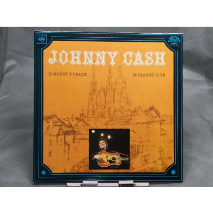 Johnny Cash ‎– Koncert V Praze (In Prague Live)