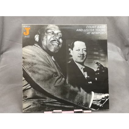 Count Basie, Lester Young – Count Basie And Lester Young At Newport LP