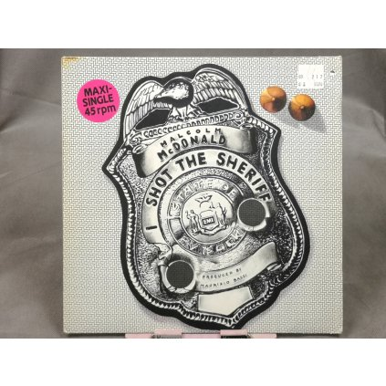 "Malcolm McDonald – I Shot The Sheriff 12"""