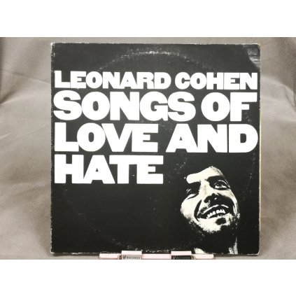 Leonard Cohen – Songs Of Love And Hate LP