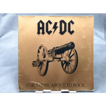 AC/DC – For Those About To Rock We Salute You LP