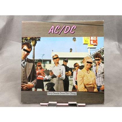 AC/DC – Dirty Deeds Done Dirt Cheap LP