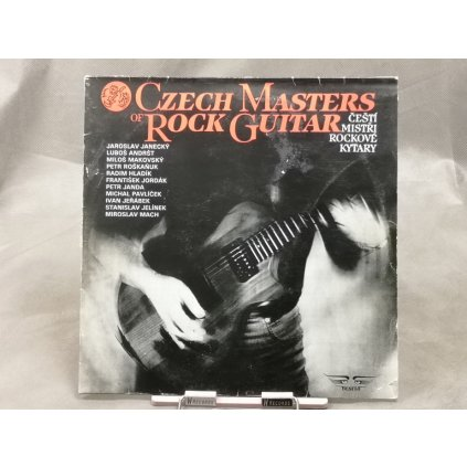 Various ‎Artists – Czech Masters Of Rock Guitar / Čeští Mistři Rockové Kytary
