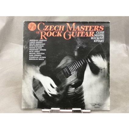 Various Artists – Czech Masters Of Rock Guitar / Čeští Mistři Rockové Kytary