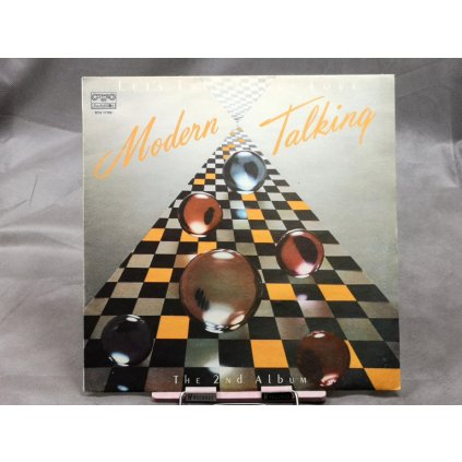 Modern Talking ‎– Let's Talk About Love - The 2nd Album
