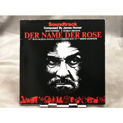 James Horner ‎– Der Name Der Rose Soundtrack