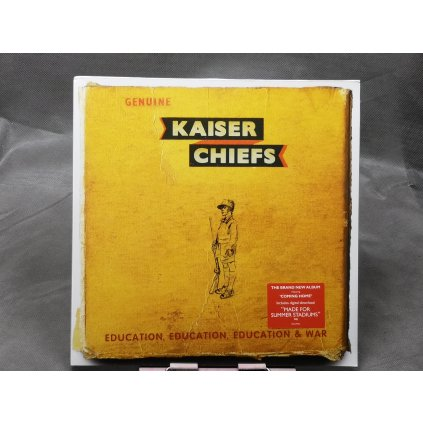 "Kaiser Chiefs – Education, Education, Education & War LP+7"""