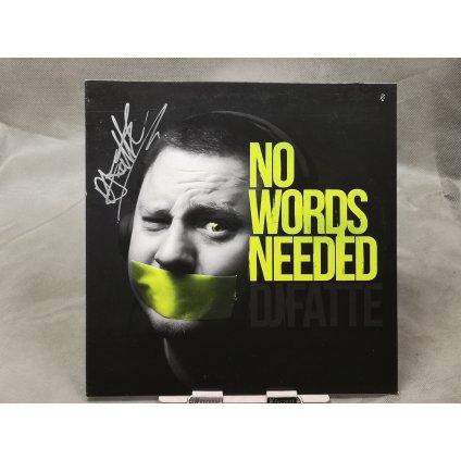 DJ Fatte – No Words Needed LP + podpis