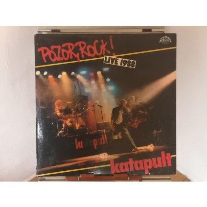 Katapult – Pozor, Rock! Live 1988 LP