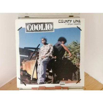 """Coolio – County Line / Sticky Fingers 12"""""""