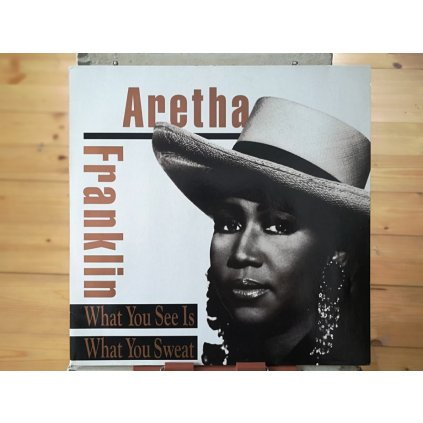 Aretha Franklin – What You See Is What You Sweat LP