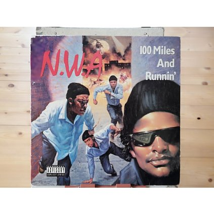 """N.W.A. – 100 Miles And Runnin' 12"""" EP"""