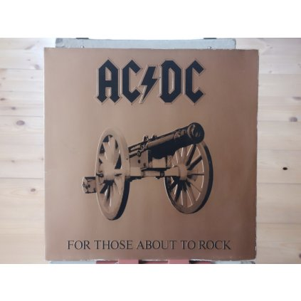 AC/DC ‎– For Those About To Rock We Salute You LP