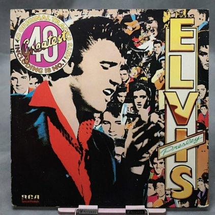 Elvis Presley – Elvis's 40 Greatest 2LP